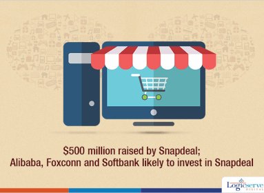 500 m raised by snapdeal @LogicserveDigi
