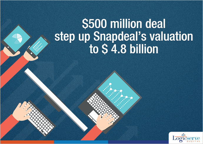 Snapdeal raised fresh funds worth $500 million @LogicserveDigi