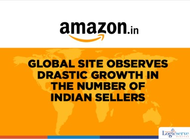 Big jump in Indian sellers on Amazon's global sites @LogicserveDigi