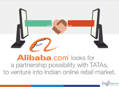 Alibaba Looks For partnership with TATAs @LogicserveDigi