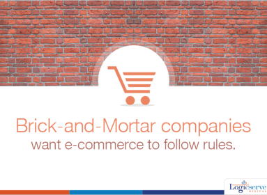 Bricks and motor companies want ecommerce to follow rules