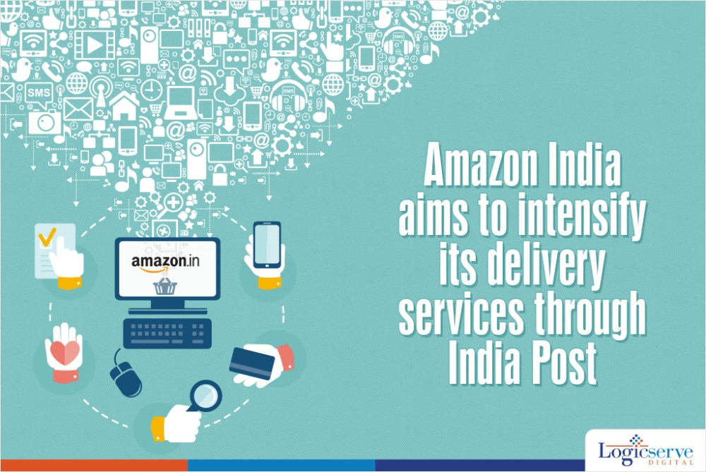 Amazon Delivery Services India Post @LogicserveDigi