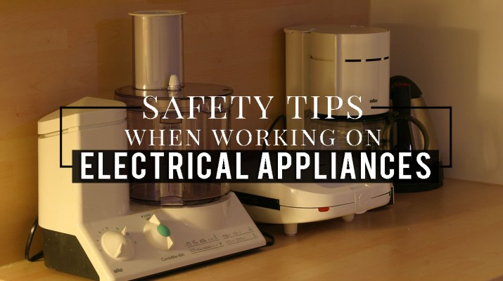 Safety tips for electrical appliances copy