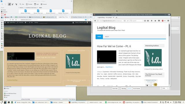 Opera on Left Firefox on right
