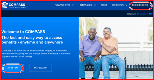MyCompass Pa Account Login - www MyCompass state pa us