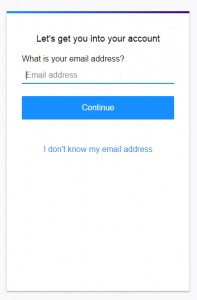 yahoo mail recover password