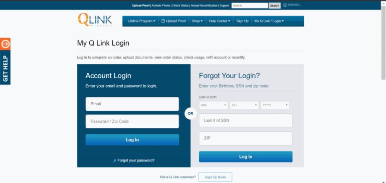 Qlink Wireless Login | logintips.net