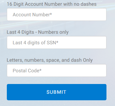 MyCCPay account number