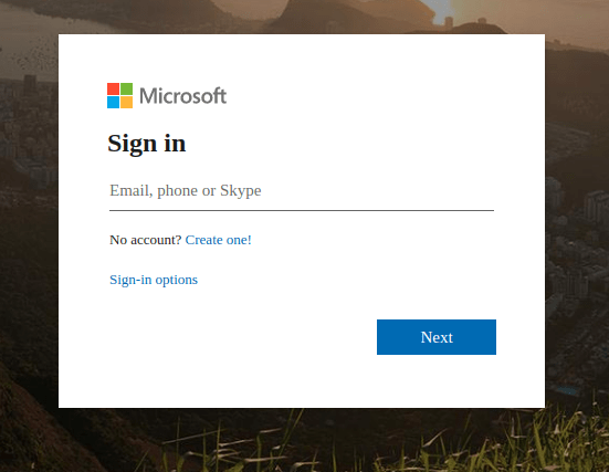 hotmail id for login