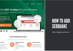 how to add seoquake on your browsers