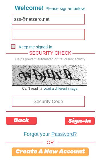 netzero web mail sign in
