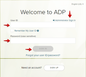 ADP Workforce Now Login as an Administrator