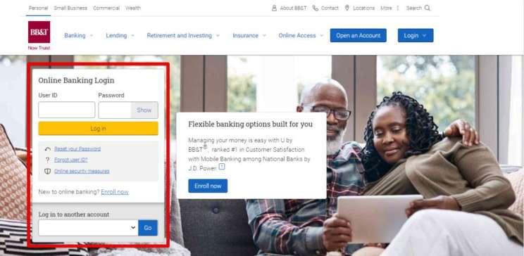 BB&T Online Banking Login