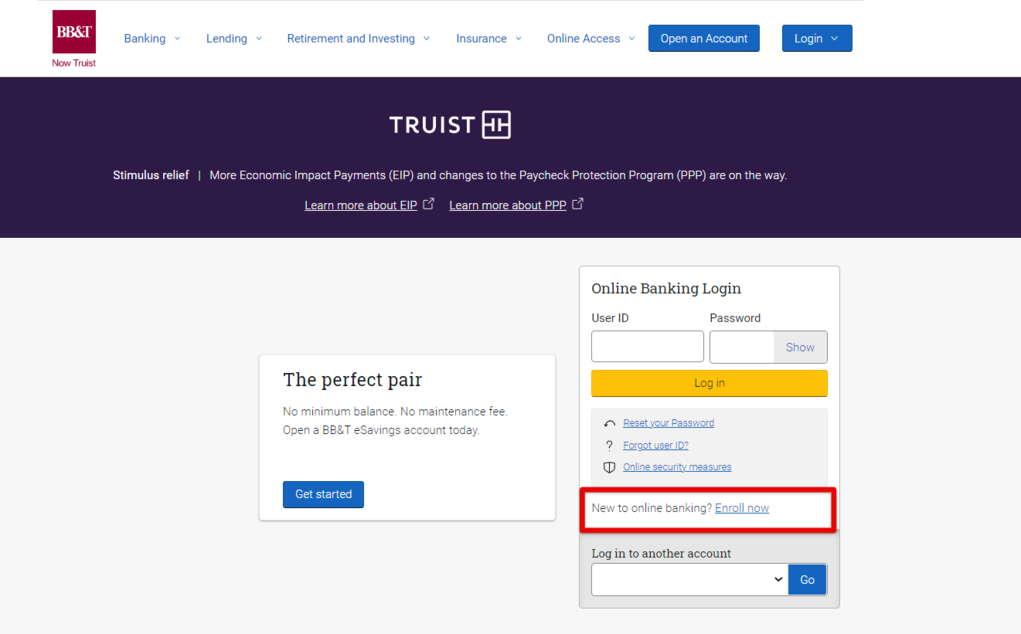 Open BB&T Online Banking