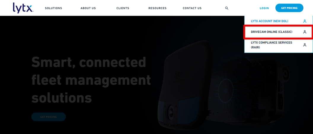 Lytx Drivecam Online Login Classic