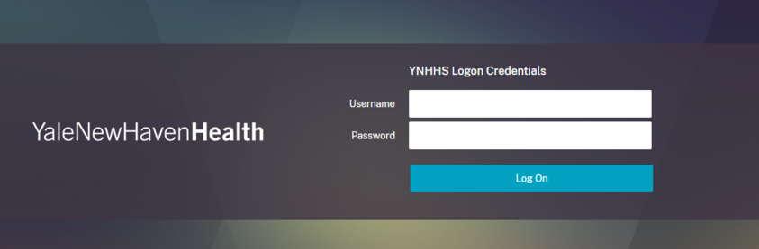 YNHH Employee Login Page