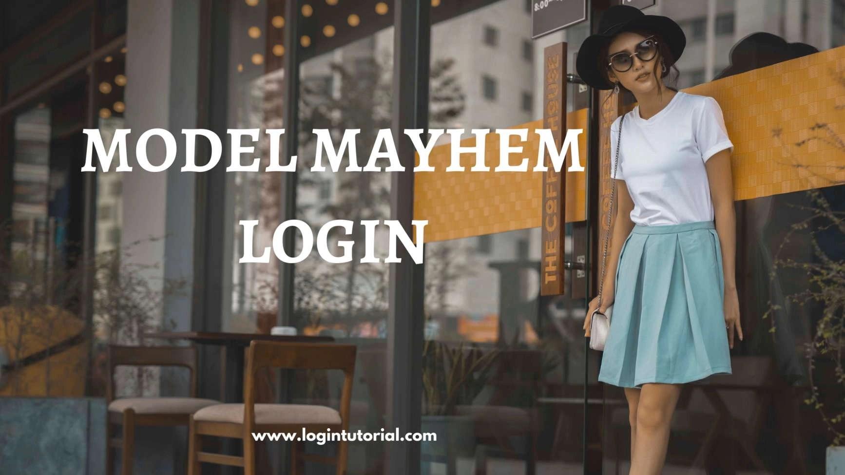 Model Mayhem Login Image