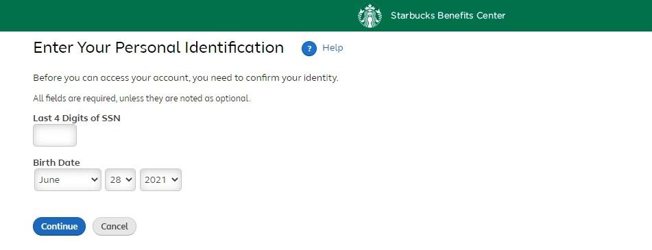 Mybuxben regsiter new user - Starbucks
