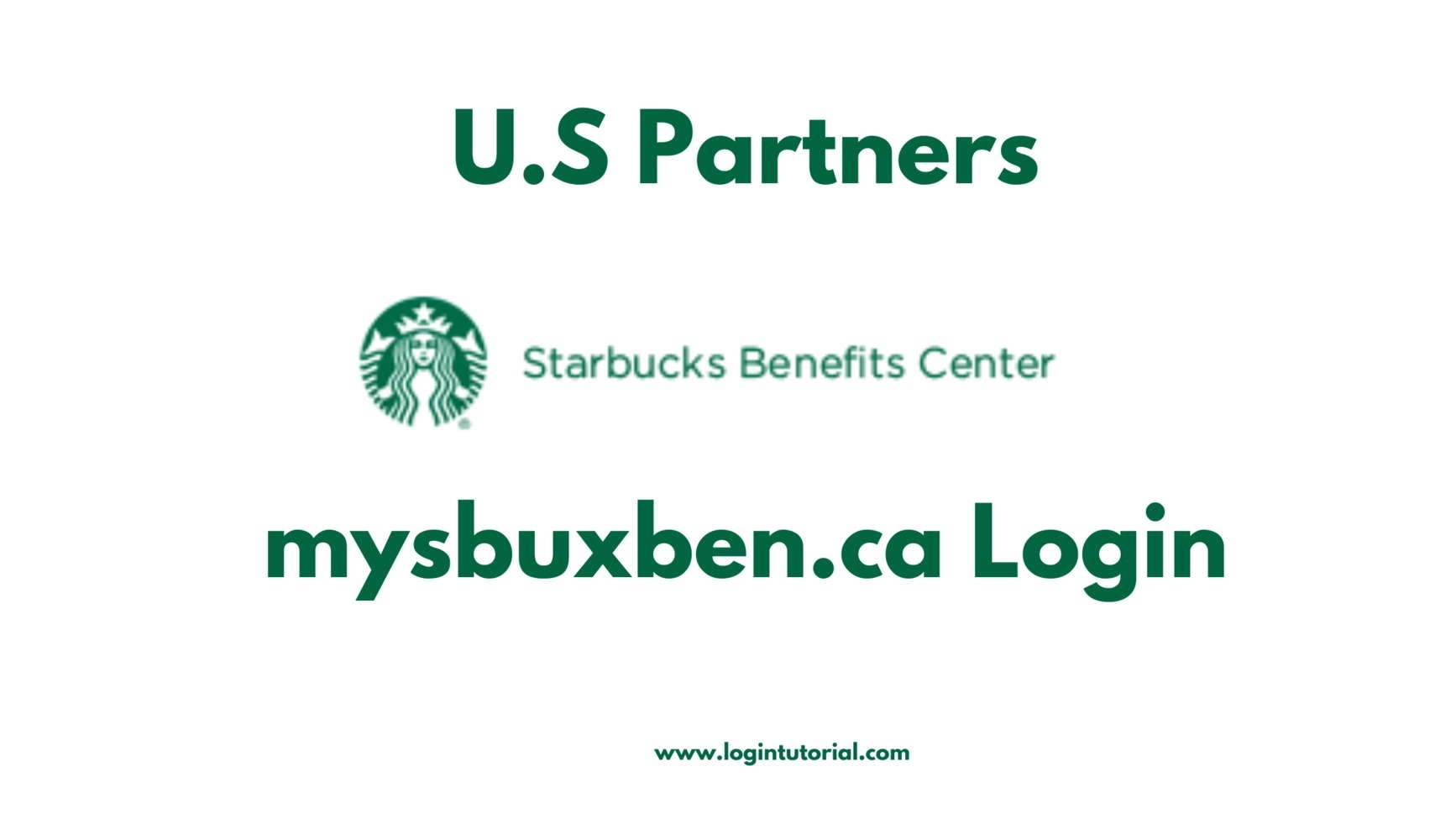 mysbuxben Login for US Partners