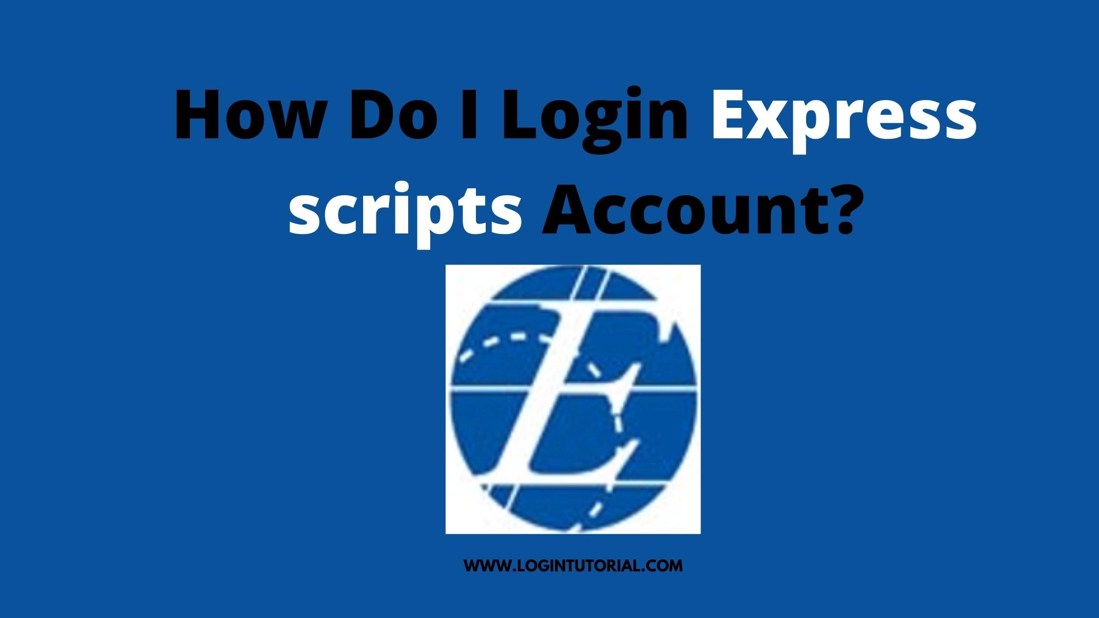 Express scripts login