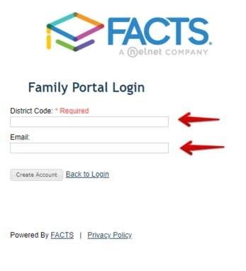 RenWeb- Parent Signup form