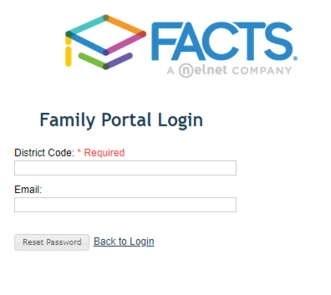 RenWeb ParentsWeb Reset Passowrd and Username