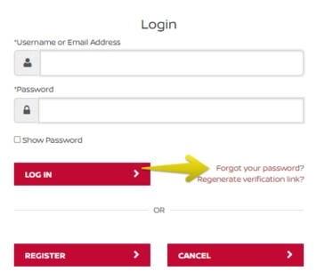 Forgot Nissan Finance Password