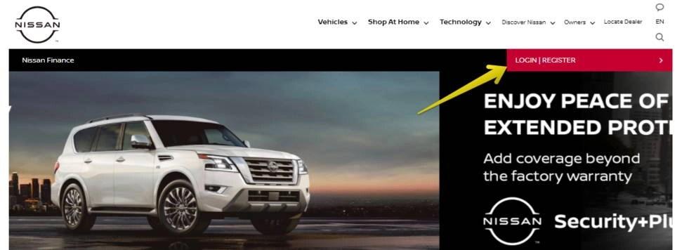 Nissan Finance Login Register Online