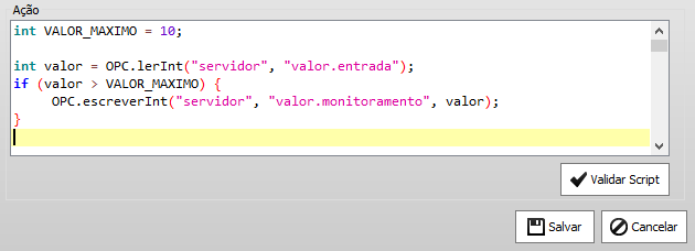 Exemplo de script - Logique Data Integrator- Integração de dados