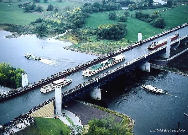 Cruzamento de rios, Alemanha