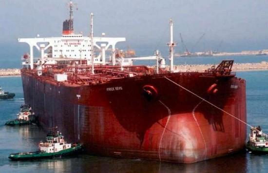 knock nevis maior navio cargueiro do mundo - petroleiro