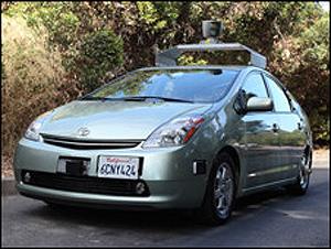 google cria carro sem motorista (piloto automático)