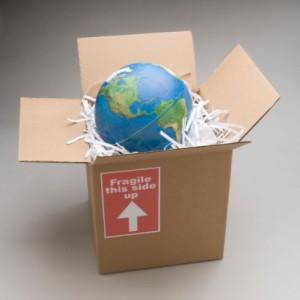 como fazer mudança internacional