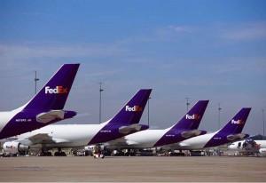 aviões da fedex em Memphis