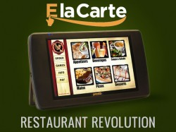 elacarte - tablet para restaurantes