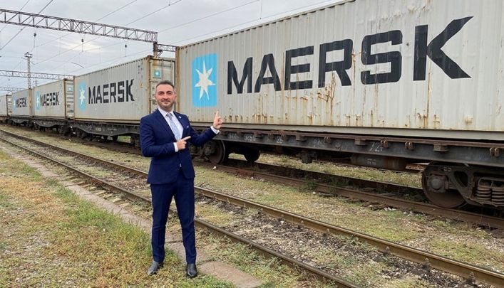 Maersk's First Block Train from China Arrives in Georgia - Logistics Manager