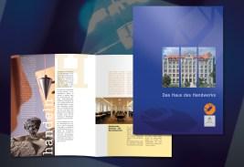 Imagebroschüre für das Haus des Handwerks der Handwerkskammer zu Leipzig