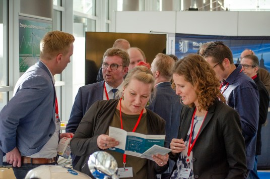 Cluster-Netzwerke der Stadt Leipzig gemeinsam auf dem MUT Deutschland