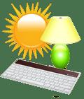 Light Powered Keyboard