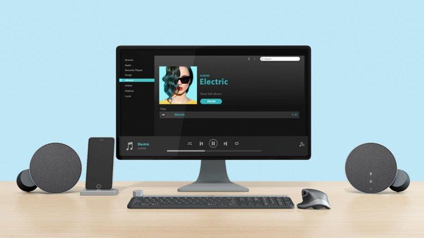 Logitech MX Sound Stereo Bluetooth Computer Speakers