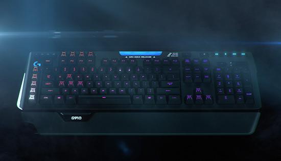 Game toetsenbord met licht - De Logitech G910 Spectrum QWERTY