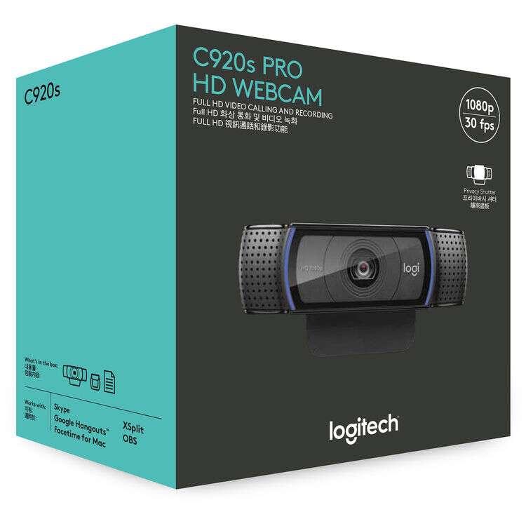 Logitech C920 box