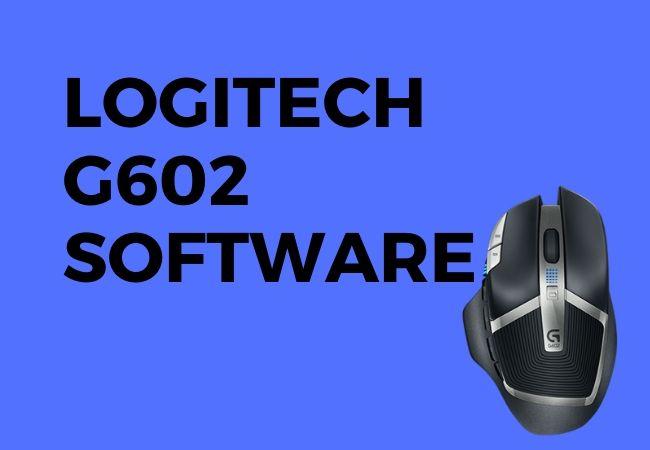 Logitech g602 software