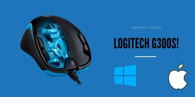 Logitech G300s mouse