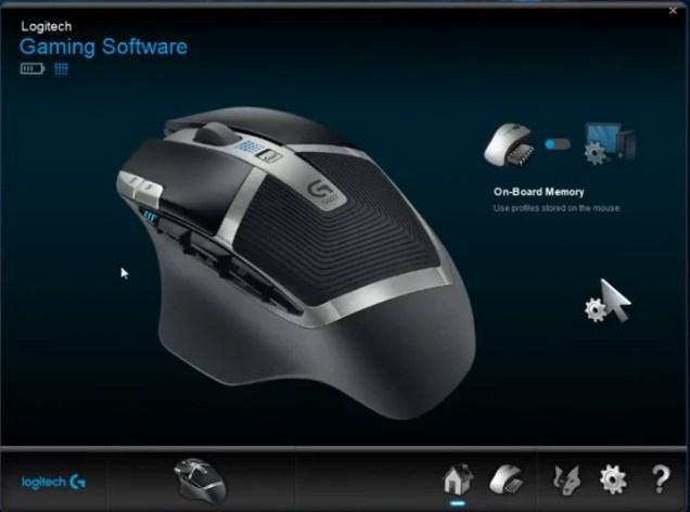 Logitech gaming software G602