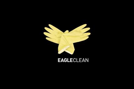 Eagle Clean logo design