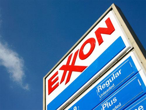 Exxon logo by Loewy