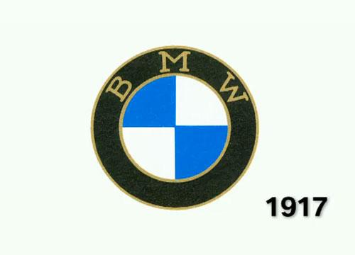 BMW logo 1917