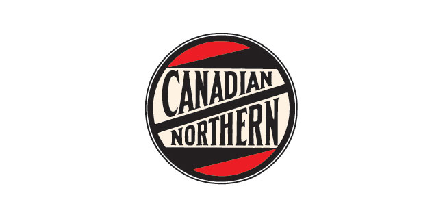 Canadian Northern railway logo 1899