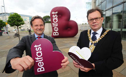Belfast city logo design